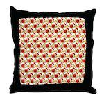 Christmas Clownfish Pattern Throw Pillow