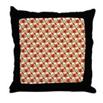 Christmas Clownfish Pattern Throw Pillow
