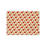 Christmas Clownfish Pattern 5'x7'Area Rug