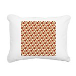 Christmas Clownfish Pattern Rectangular Canvas Pil