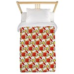Christmas Clownfish Pattern Twin Duvet