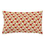 Christmas Clownfish Pattern Pillow Case