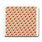 Christmas Clownfish Pattern Mousepad