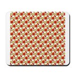 Christmas Clownfish Pattern Mousepad