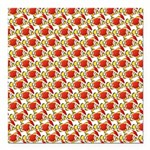 Christmas Clownfish Pattern Square Car Magnet 3