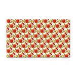 Christmas Clownfish Pattern Rectangle Car Magnet