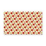 Christmas Clownfish Pattern Car Magnet 20 x 12