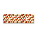 Christmas Clownfish Pattern Car Magnet 10 x 3