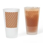 Christmas Clownfish Pattern Drinking Glass