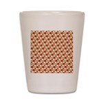 Christmas Clownfish Pattern Shot Glass