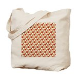 Christmas Clownfish Pattern Tote Bag
