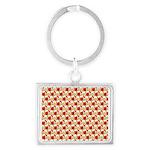 Christmas Clownfish Pattern Keychains