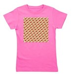 Christmas Clownfish Pattern Girl's Tee