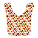 Christmas Clownfish Pattern Bib