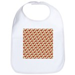 Christmas Clownfish Pattern Bib