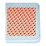 Christmas Clownfish Pattern baby blanket