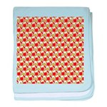 Christmas Clownfish Pattern baby blanket