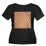 Christmas Clownfish Pattern Plus Size T-Shirt