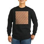 Christmas Clownfish Pattern Long Sleeve T-Shirt