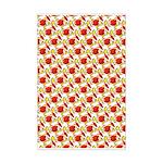 Christmas Clownfish Pattern Posters