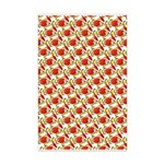 Christmas Clownfish Pattern Posters
