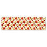 Christmas Clownfish Pattern Bumper Sticker