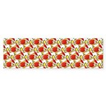 Christmas Clownfish Pattern Bumper Sticker