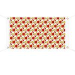 Christmas Clownfish Pattern Banner