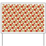 Christmas Clownfish Pattern Yard Sign