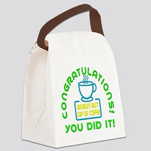 Congratulations You Did It Elf Classic Canvas Lunc