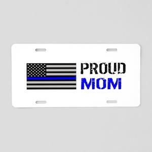 Police: Proud Mom Aluminum License Plate