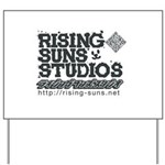 Risingsuns Studios J Black Yard Sign
