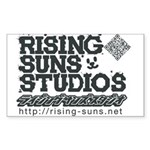 Risingsuns Studios J Black Sticker