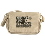 Risingsuns Studios J Black Messenger Bag