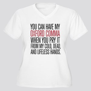 Oxford Comma Plus Size T-Shirt