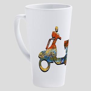 CRUISE ON 17 oz Latte Mug