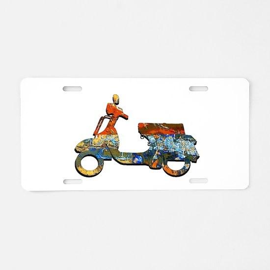 CRUISE ON Aluminum License Plate
