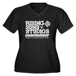 Risingsuns Studios J White Plus Size T-Shirt