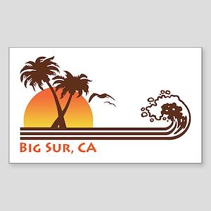 Big Sur California Sticker (Rectangle)