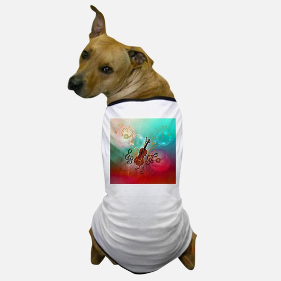 Violin with violin Dog T-Shirt