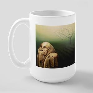 'Mayan God' Large Mug