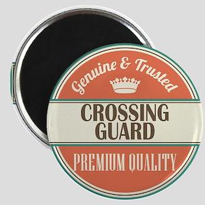 crossing guard vintage logo Magnet