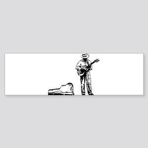 london busker Bumper Sticker