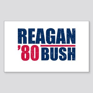 REAGAN-BUSH 80 Sticker