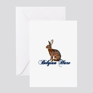 Belgian Hare Greeting Cards