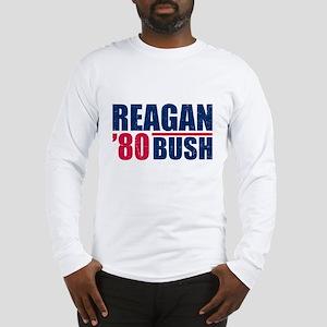 REAGAN-BUSH 80 Long Sleeve T-Shirt