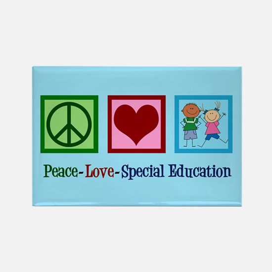 Special Education Teacher Rectangle Magnet