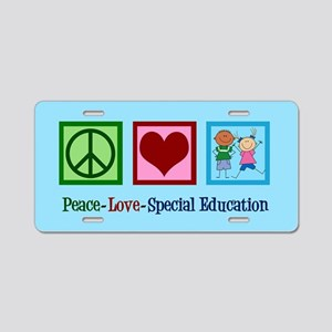 Special Education Teacher Aluminum License Plate