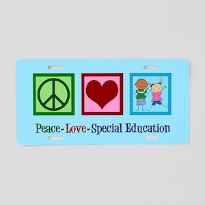Special Education Teacher Aluminum License Plate