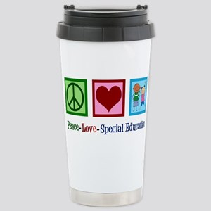 Special Education 16 oz Stainless Steel Travel Mug